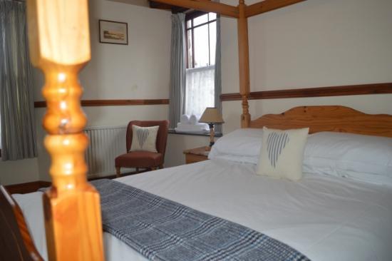 The Castle Inn: Double room