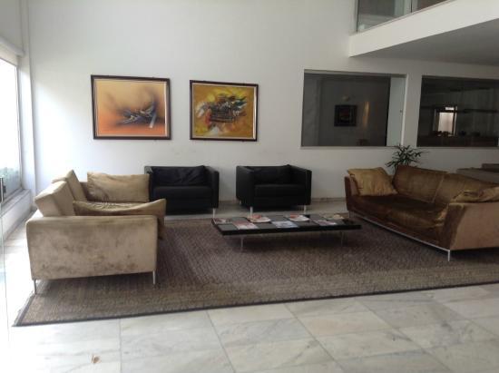 Zoghbi All Suites Hotel : Hall de entrada do Zoghbi All Suites