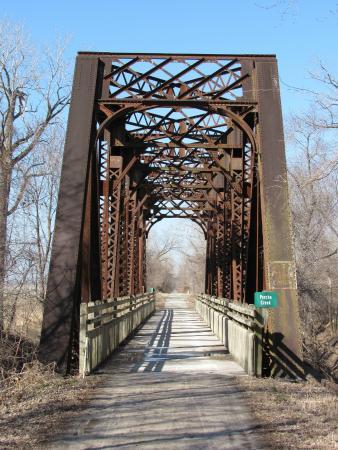 Katy Trail State Park : a bridge