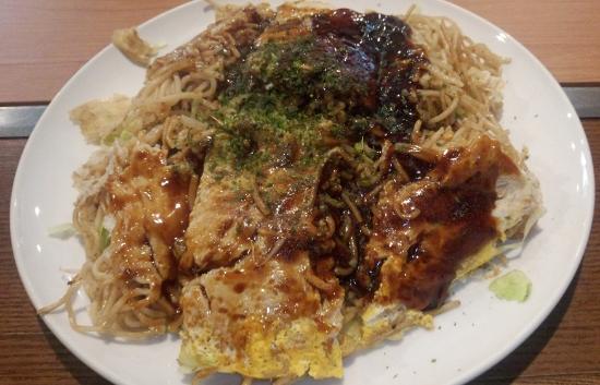 Hiroshima Style Okonomiyaki Pick Up