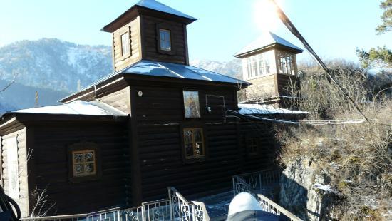 Chemal, Rusija: Храм