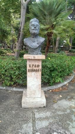 Municipio de Bar, Montenegro: памятник Николе 1