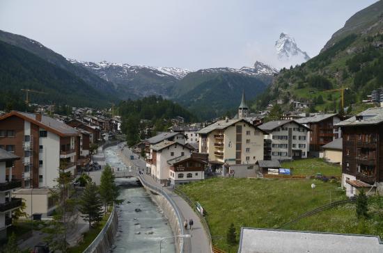 Hotel Metropol & Spa Zermatt: ホテルの部屋からの眺め