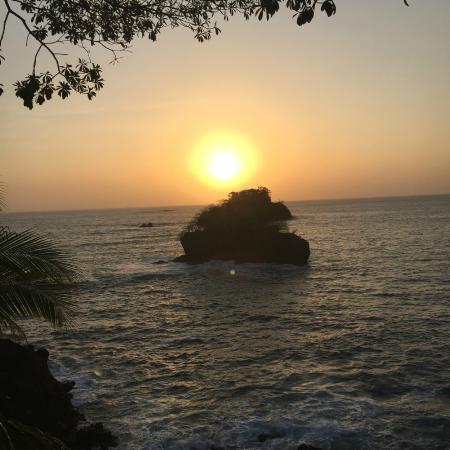San Jose Island, Panama: view from my room