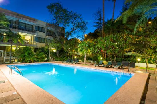 Hotel Colon Rambla: Piscina