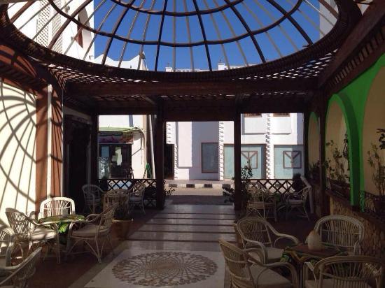 South North - Tea Garden & Culture Cafe: the new entrance