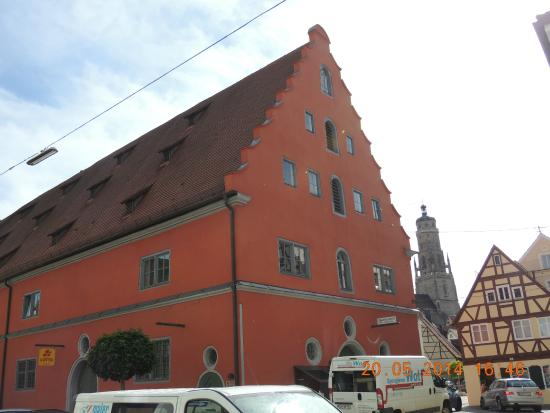 Kirchturm Daniel: A torre ao fundo