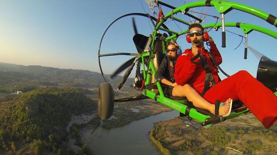 TRIKEFORCE - Powered Paragliding: Freshbreeze :)