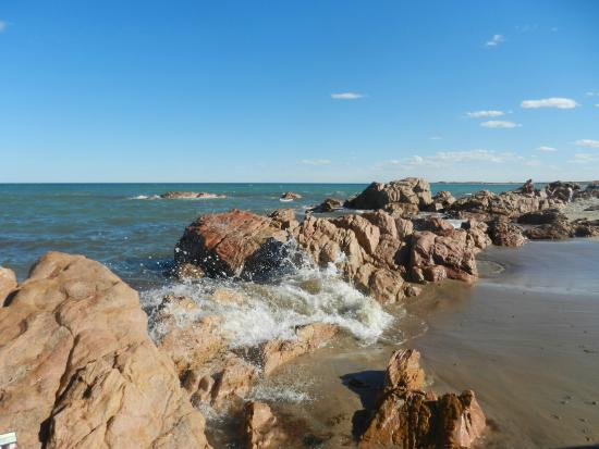 Las Grutas, Argentina: Playa Piedras Coloradas