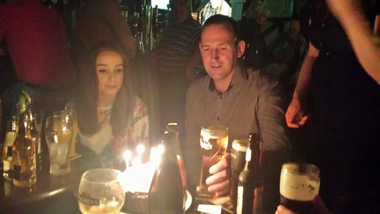 Athy, Irlanda: Happy Birthday John Glynn