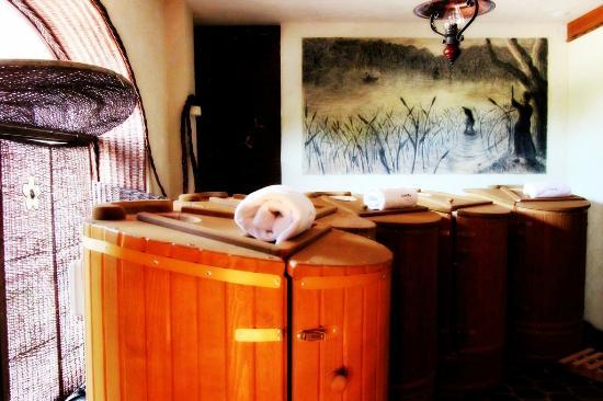 Olandia: sauna