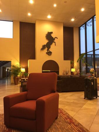 Park Inn by Radisson Houston North & Conference Center : Hall de entrada do Hotel
