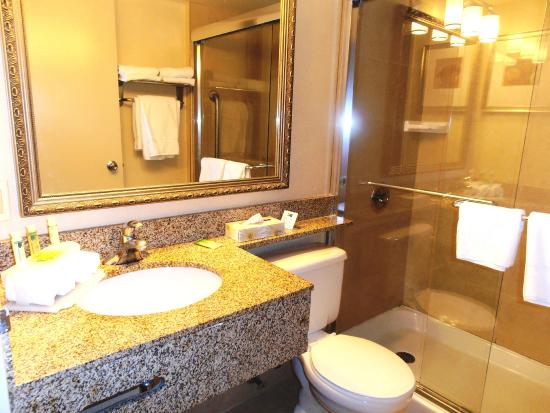 Holiday Inn Express Toronto - North York: Our Standard Room Bathroom