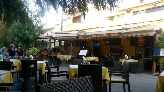 Apokoronas, Griechenland: Веранда