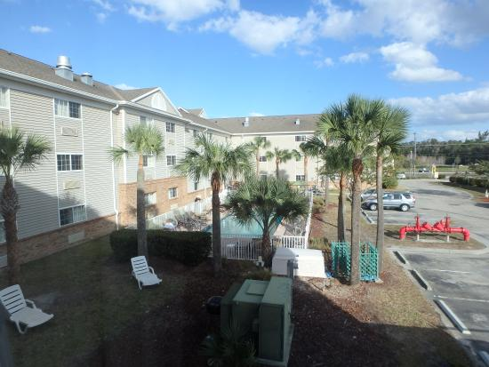 Suburban Extended Stay of Fort Myers: pool view from room