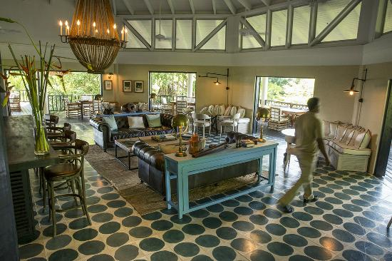 Belcampo Lodge: Dining Room & Coffee Bar