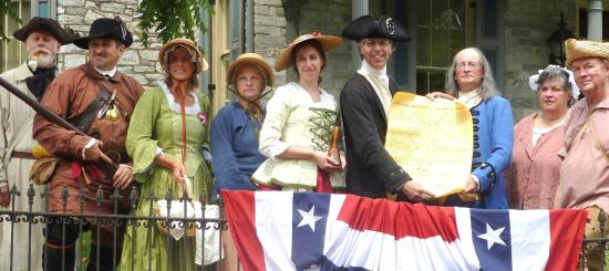 John Harris-Simon Cameron Mansion: The Declaration of Independence is read from the porch each July 4.