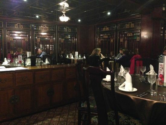 SANJAY'S  KITCHEN: La salle du restaurant