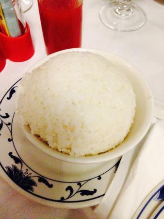 Ristorante Tesoro: riso bianco