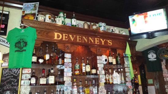 """Devenney's Pub: Great bar """"face"""""""