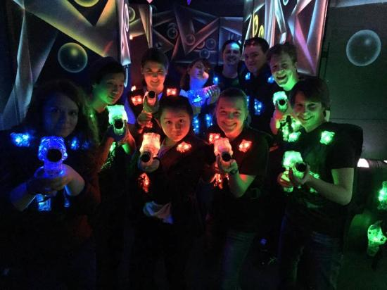 Team Building Group Picture Of Ultrazone Laser Tag