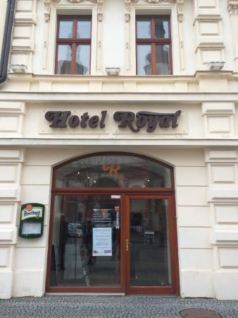 Hotel Royal: Entrance