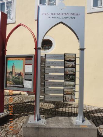 Reichsstadtmuseum: Entrada do museu