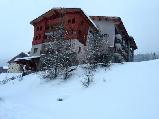 Hôtel Club mmv Val Cenis : Un emplacement parfait pour partir et revenir skis aux pieds