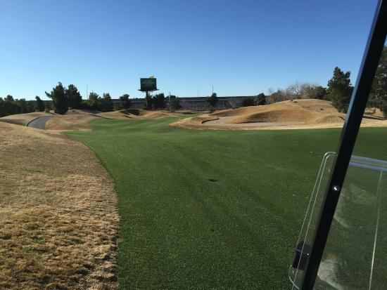 Desert Pines Golf Club : Look at those fairways!