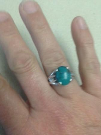 Boone, Carolina del Norte: Turquoise Ring