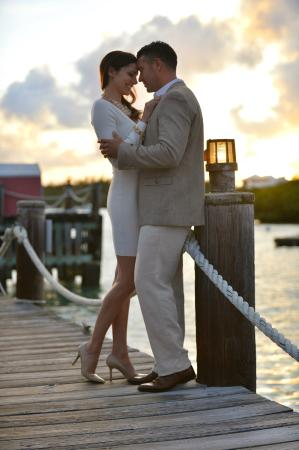 The Dock at The Waterlot Inn: Romance at The Dock