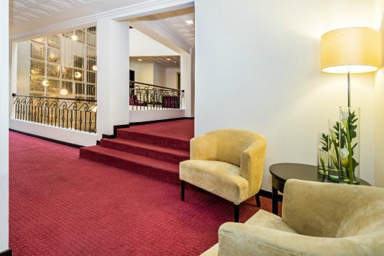Hotel Augusta: Pasillo