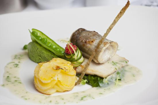 Sarah Bernhardt Restaurant : Baked fillets of rainbow trout