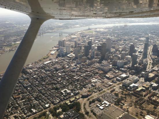 Flight Academy of New Orleans: Overhead 1