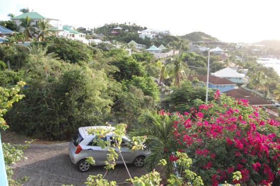 Jocelyne LE GOFF : view from Colibri terrace