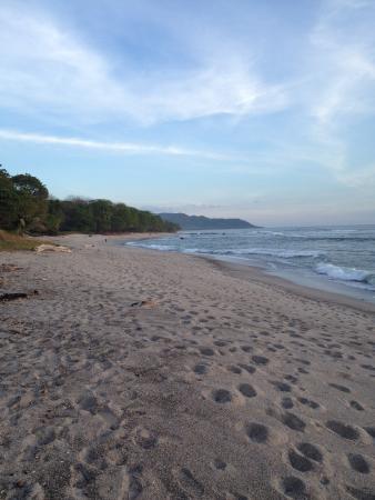 Beach behind Makanas
