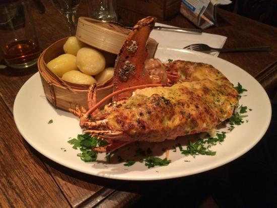 La Cloche at The Lion: Lobster