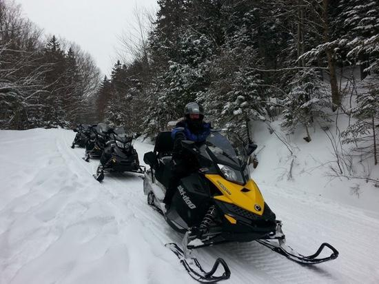 SledVentures Snowmobile Rentals and Tours: awesome time!