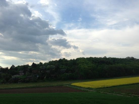 Zaberfeld, Deutschland: View from Hotel room
