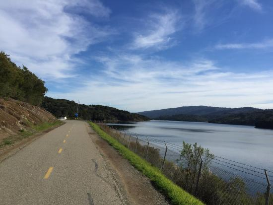 Sawyer Camp Trail: Nice paved trail for walks and jogs. Scenery is great here