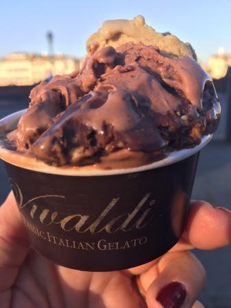 Gelateria Cioccolateria Vivaldi : Melhor sorvete de pistache do mundo !!
