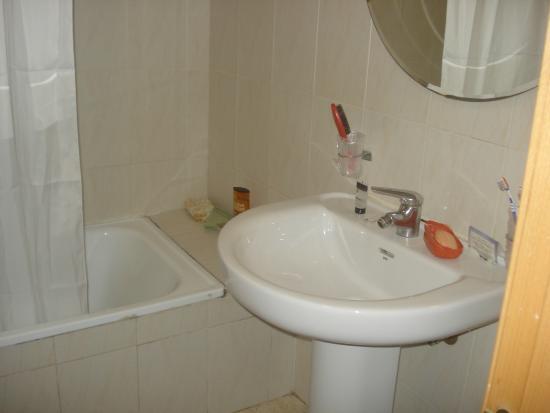 Estudiotel Alicante : salle de bains