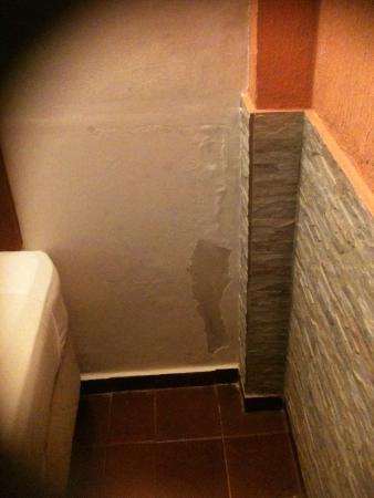 CAMERA DA LETTO: particolare della pittura al muro - Foto di La ...