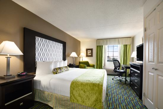 Wyndham Garden Wichita Downtown: King Room