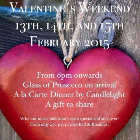 The Northumberland Arms: Valentines Specials