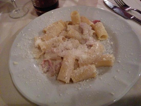 Rigatoni alla gricia ;) - Foto di Zafferino, Roma - TripAdvisor