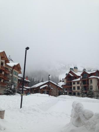 Solitude Mountain Resort : There is a mountain there somewhere