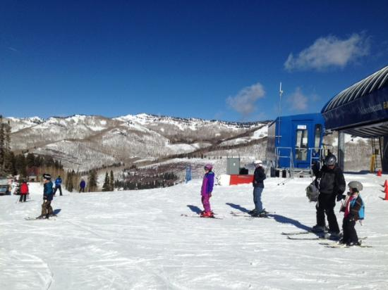 Solitude Mountain Resort: Top of Moonbean lift