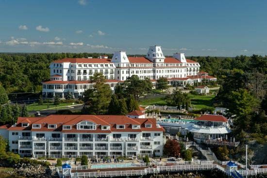 Wentworth by the Sea, A Marriott Hotel & Spa: Aerial