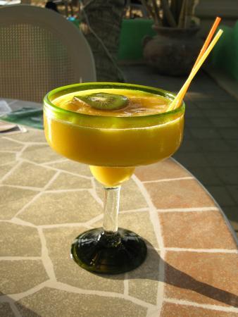 La Playa: THE Mango Margarita!!